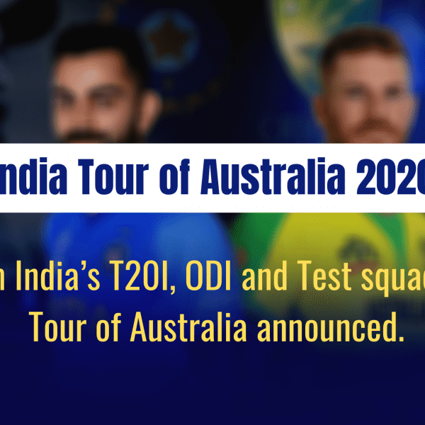 India Tour of Australia 2020 : BCCI announces Team India squads for the Australia tour