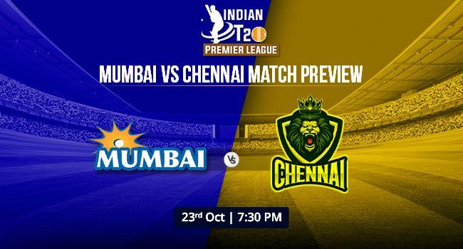 mumbai vs chennai match