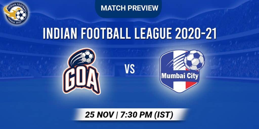 Goa vs Mumbai City