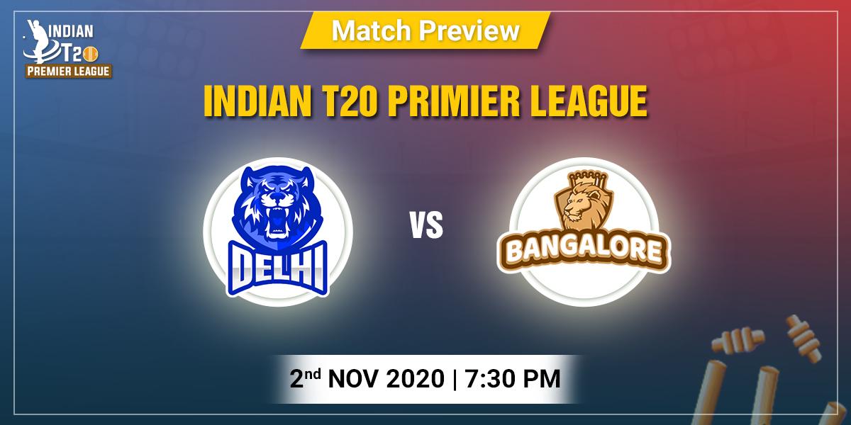 Delhi vs Bangalore