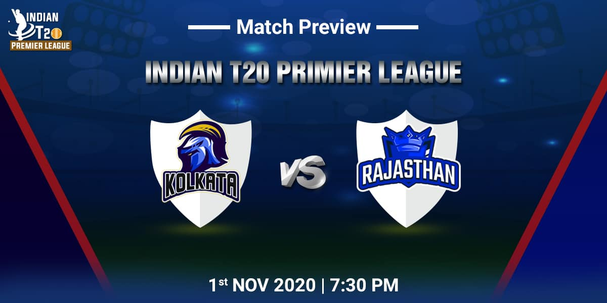 Kolkata vs Rajasthan Match