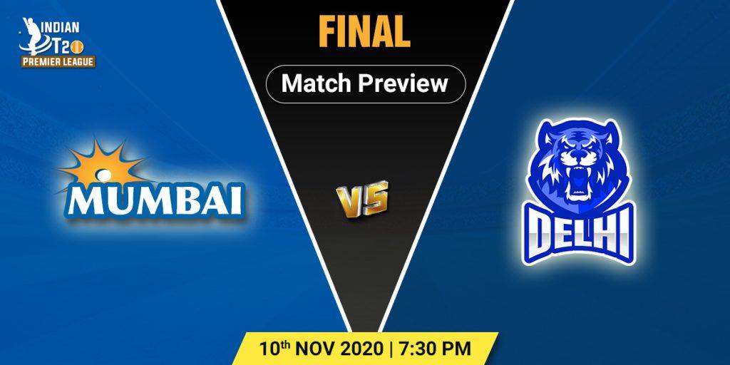 Mumbai vs Delhi Final