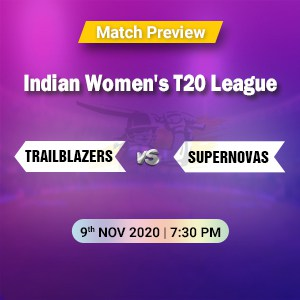 Trailblazers vs Supernovas Final