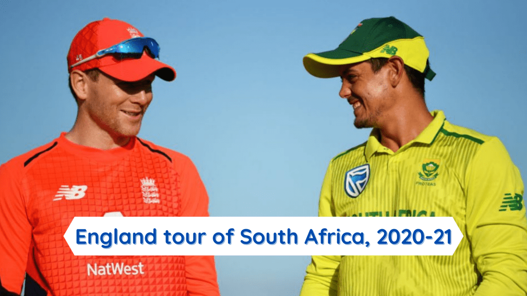 England tour of South Africa 2020-21