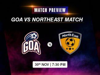 Goa vs Northeast