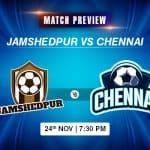 Jamshedpur vs Chennai