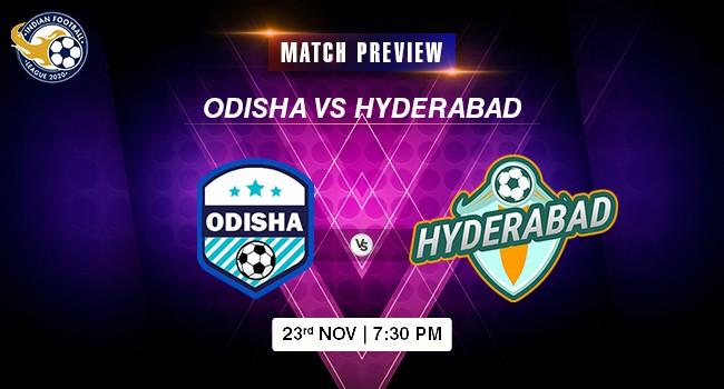 Odisha vs Hyderabad