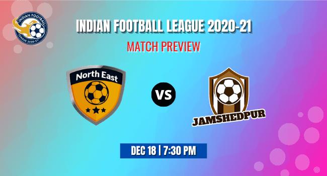 NorthEast vs Jamshedpur Football