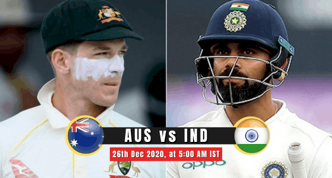 AUS vs IND 2nd Test Match
