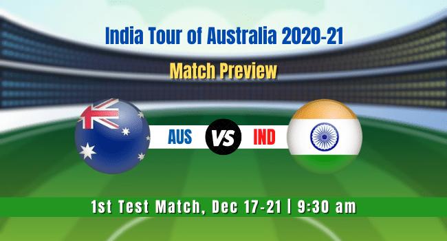 IND vs AUS 1st Test