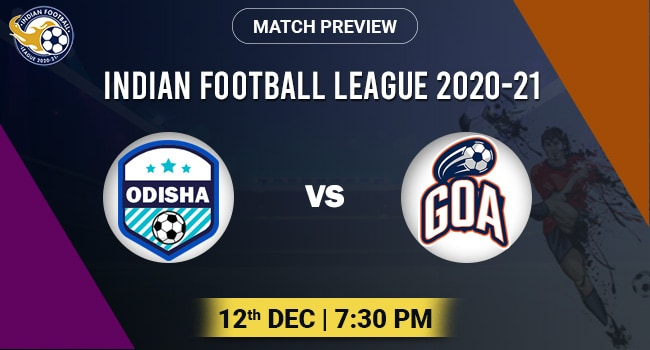 Odisha vs Goa Football