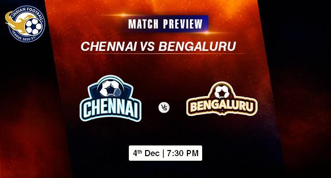 Chennai vs Bengaluru Football