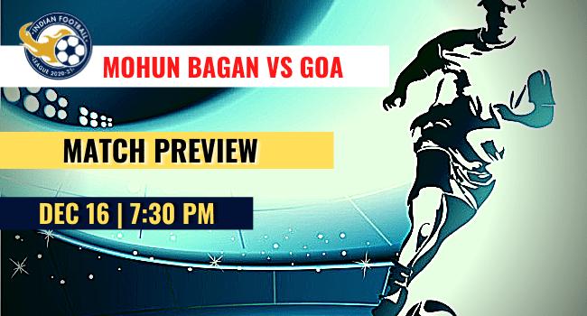 Mohun Bagan vs Goa Football