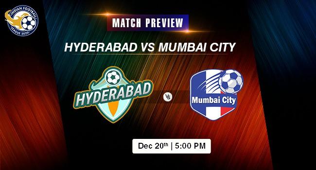 Hyderabad vs Mumbai City Football