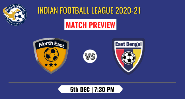 NorthEast vs East Bengal