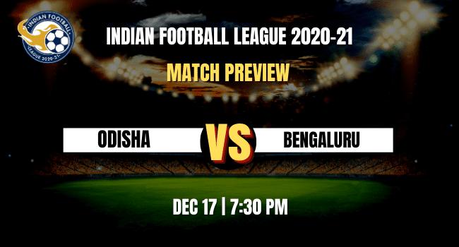 Odisha vs Bengaluru Football