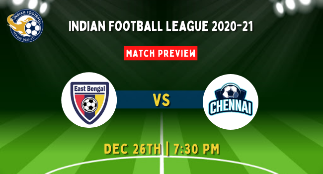 East Bengal vs Chennai