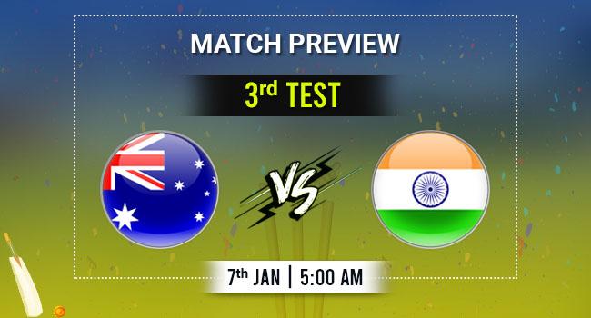 AUS vs IND 3rd Test