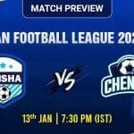 Odisha vs Chennai Football Match