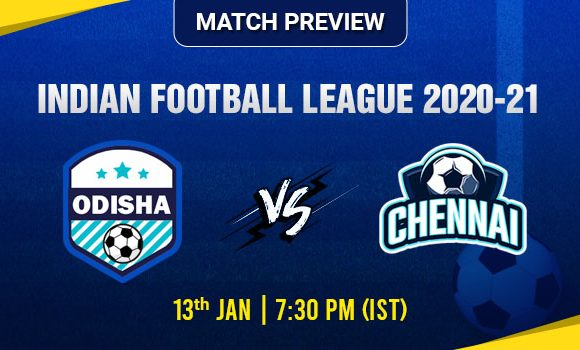 Odisha vs Chennai Football Match