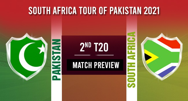 Pakistan vs South Africa 2nd T20I: Match Preview: South Africa tour of Pakistan 2021