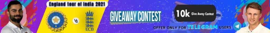 Best fantasy app in India: Telegram giveaway contest