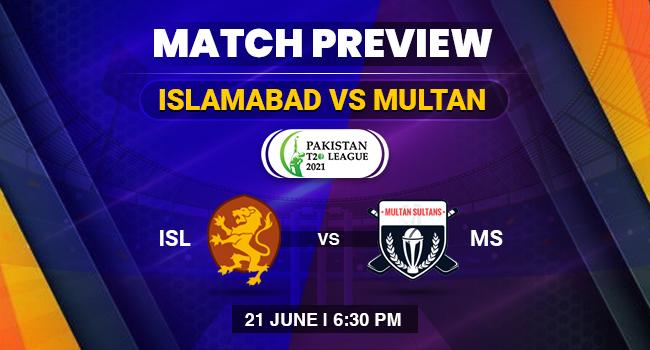 Islamabad vs Multan Match