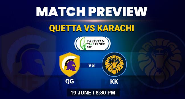 Quetts Vs Karachi Match