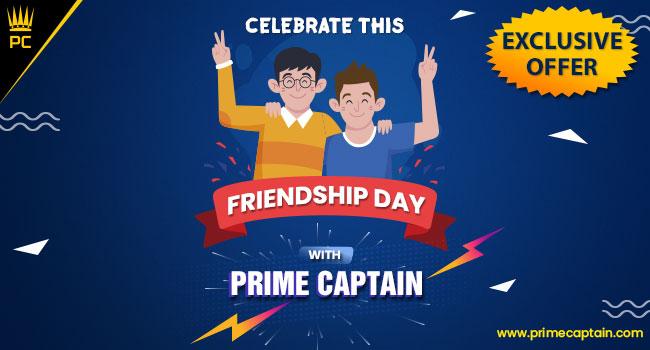 Prime Captain Friendship Day Offer