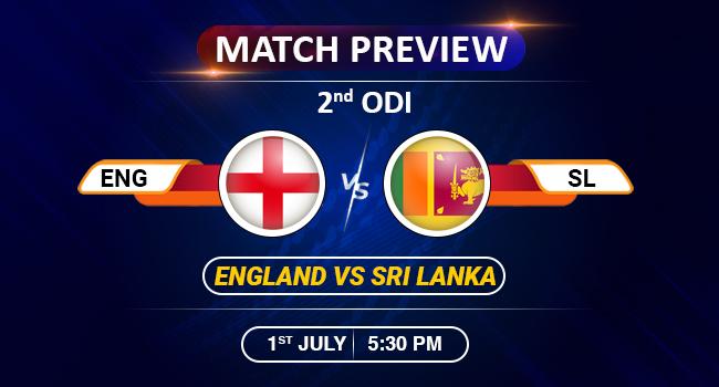 Eng vs Sl 2nd ODI match preview