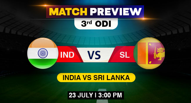 IND vs SL third ODI match preview