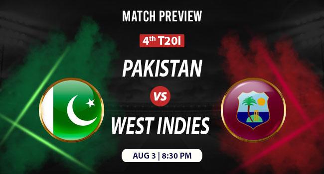 West Indies vs Pakistan 4th T20I | Match Preview