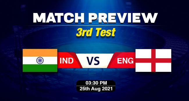 IND vs ENG 3rd Test