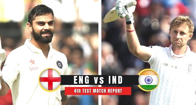 Eng vs Ind 4th Test