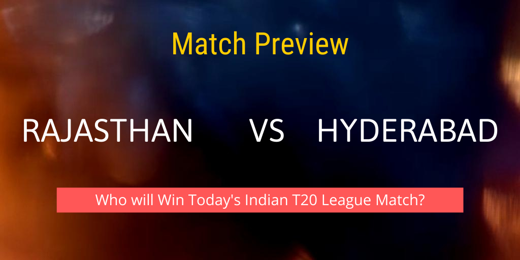 Rajasthan vs Hyderabad Match Preview Indian T20 League 2021