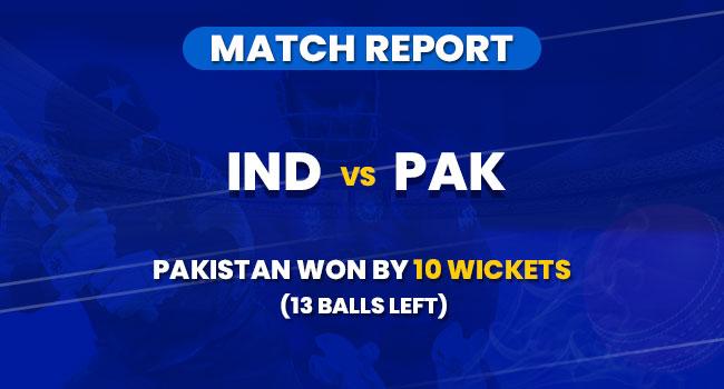 IND vs PAk