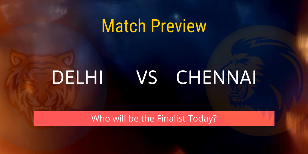 Delhi vs Chennai Indian T20 League Playoff Match