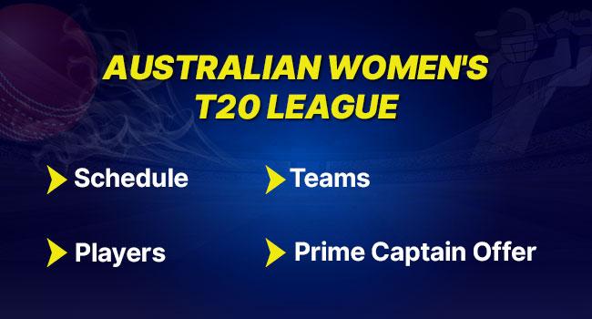 Australian women's t20 league
